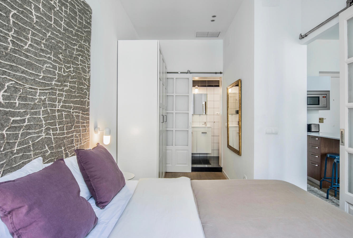 Dormitorio, detalle armario, Desengaño