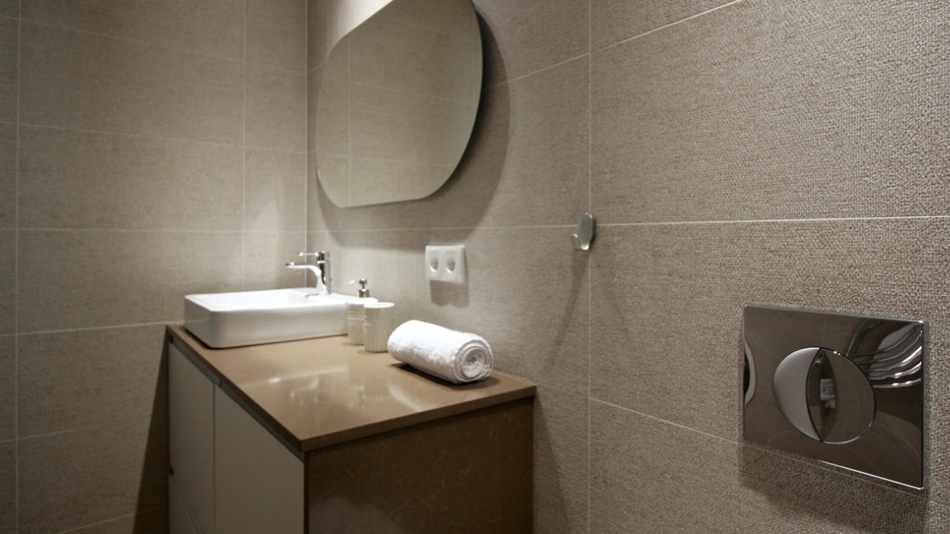 Detalle lavabo Marqués de Santa Ana I